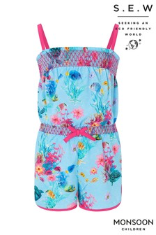 Monsoon Recycled Shoal Playsuit
