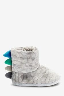 Dinosaur Slipper Boots (Younger)
