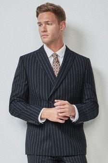 Gestreifter Anzug: Jacke