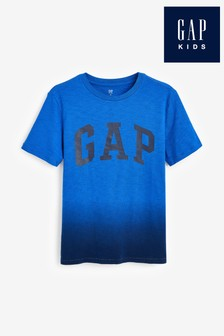 Gap Blue Dip Dye T-Shirt