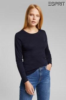 Esprit Blue Long Sleeve T-Shirt