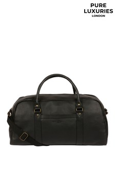 Pure Luxuries London Monty Leather Holdall