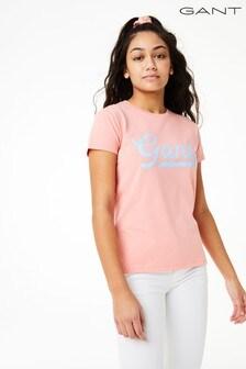 GANT Teen Girl's Script Logo T-Shirt