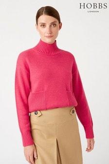 Hobbs Pink Carla Sweater