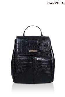 Carvela Black Heidi Two Pocket Backpack