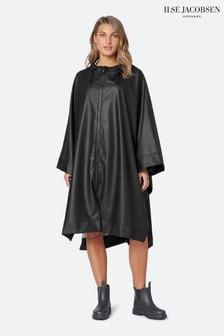 Ilse Jacobsen Hornbæk Rain Poncho In Black