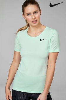 Nike Green Mesh Tee