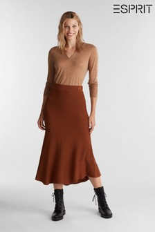 Esprit Brown Woven Skirt