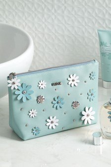 Flowers Cosmetic Bag