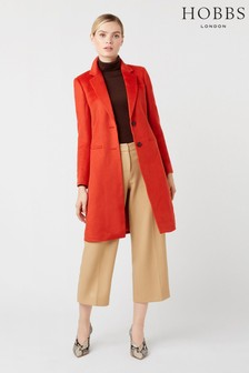 Hobbs Orange Tilda Coat