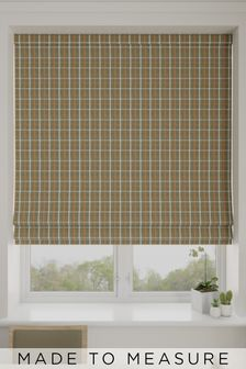 Malvern Seagreen Made To Measure Roman Blind