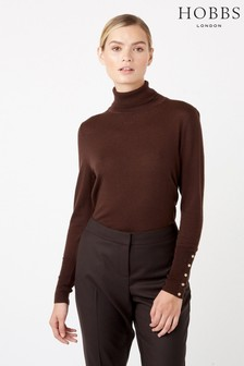 Hobbs Brown Lara Roll Neck