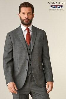 Signature Puppytooth Regular Fit Suit