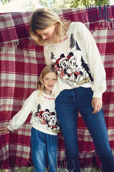 Matching Mother & Me Kids Mickey Mouse™ Sweat Top (3-16yrs)