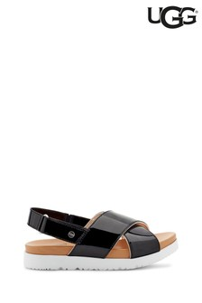 UGG® Patent Klara Cross Strap Sandals