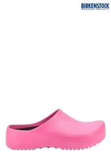 Birkenstock Pink Super-Birki Clogs