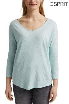 Esprit Green Long Sleeve Top