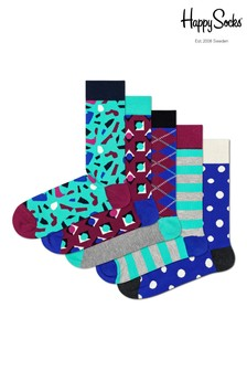 Happy Socks Stone Socks Five Pack