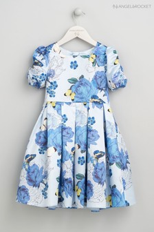 Angel & Rocket Blue Floral Dress