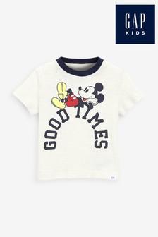 Gap Disney Mickey Mouse Slogan T-Shirt
