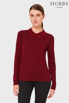 Hobbs Red Nicole Sweater