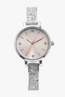 Skinny Sparkle Bracelet Watch
