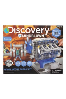 Discovery Mindblown Kids Model Engine Kit