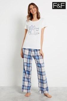 F&F White Thumper Pyjamas