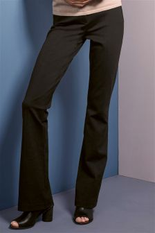 Ponte Boot Cut Trousers