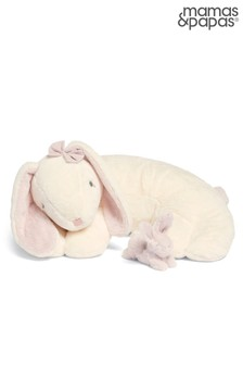 Mamas & Papas My First Bunny And Baby Tummy Time Snuggle Rug