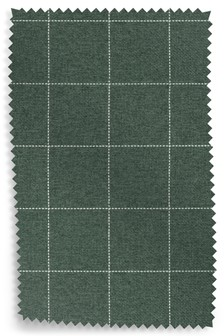 Tweedy Check Lawson Mid Grey Upholstery Fabric Sample