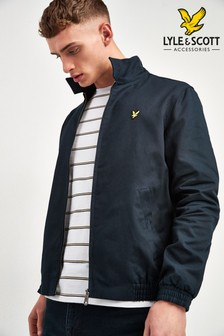 Lyle & Scott Harringtonjacke in Marineblau
