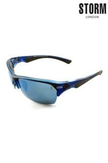 Storm Cleitus Blue Lens Sunglasses