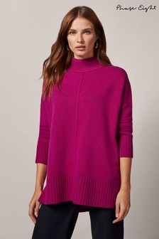 Phase Eight Purple Sienna Jumper