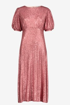 Sequin Tea Dress