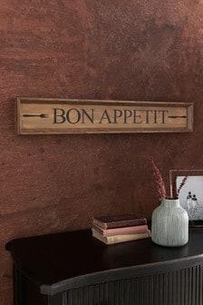 Plaque Bon Appetit