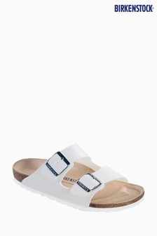 Birkenstock® Women's White Arizona Sandal