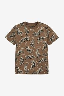 Tiger Short Sleeve T-Shirt (3-14yrs)