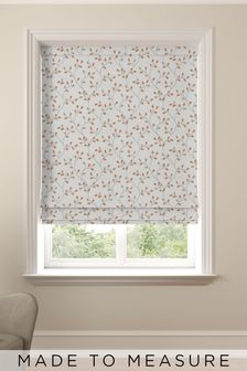 Neisha Terracotta Orange Made to Measure Roman Blind