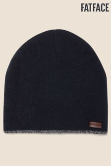 FatFace Blue Soft Brushed Beanie