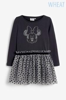 Wheat Grey Jersey Dress Minnie Mouse