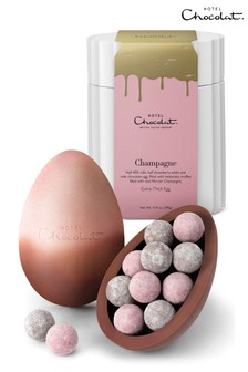 Hotel Chocolat Extra Thick Easter Egg - Champagne