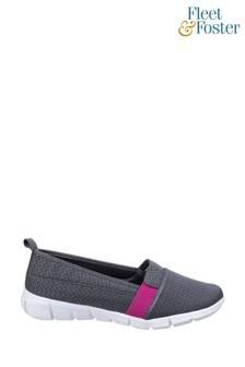 Fleet & Foster Grey Canary Summer Shoes