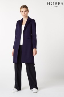 Hobbs Blue Tilda Coat