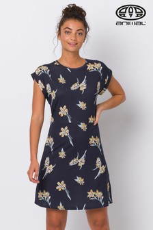 Animal Blue Coasting Dress