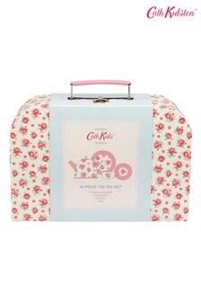 Cath Kidston® Pink Hampton Rose Tin Tea Set