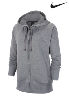 Nike Grey Get Fit Zip Through Hoody