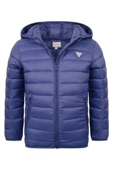 Guess Boys Blue Padded Jacket
