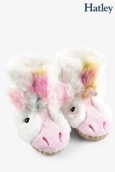 Hatley LBH Kid's Unicorn Slippers