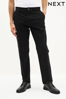 Hosen Kleidung & Accessoires Next Mens Grey Trousers Striped Dress Pants W32 L31 Classic